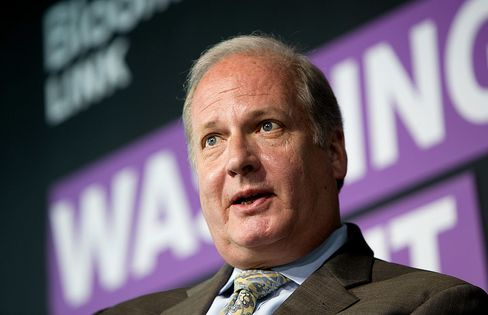 Vin Weber, co-chairman and partner at Mercury and special adviser to the economic policy team for Mitt Romney for President, Inc., speaks at the Bloomberg Washington Summit: Appraising the Economy Election in Washington, D.C., U.S., on Tuesday, May 1, 2012.