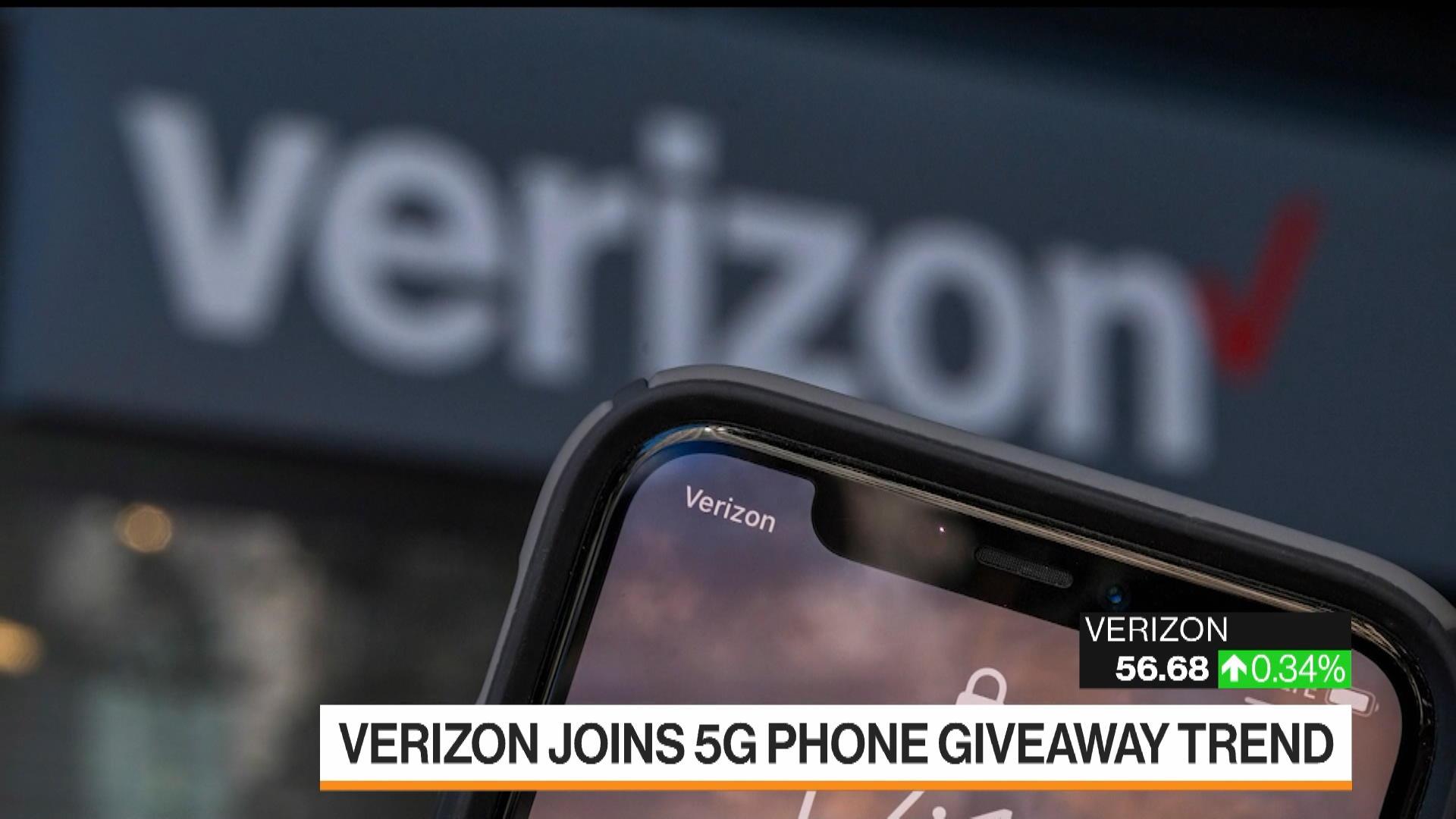 Verizon Giving Away Phones to New 5G Customers