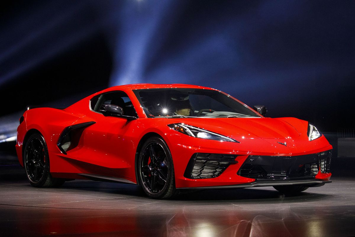 The Evolution of 'America's Sports Car' - Bloomberg
