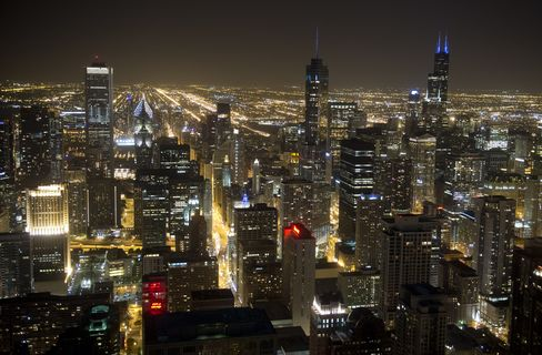 Rebounding Chicago Saves Office Investors From Brink: Mortgages