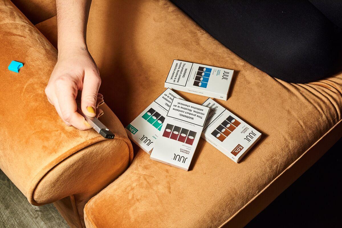 Juul Suspends Sale of Most E-Cigarette Flavors in U.S.
