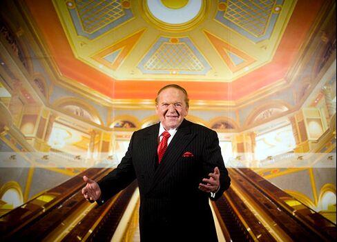 Adelson at the Venetian Macau
