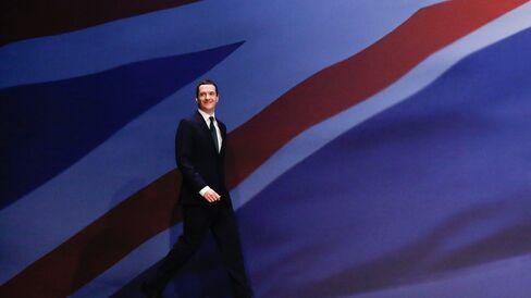 U.K. Chancellor George Osborne Speaks At Conservative Party Conference