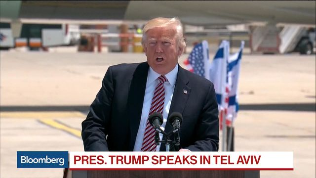 Donald Trump visits Israel as he continues Middle East trip