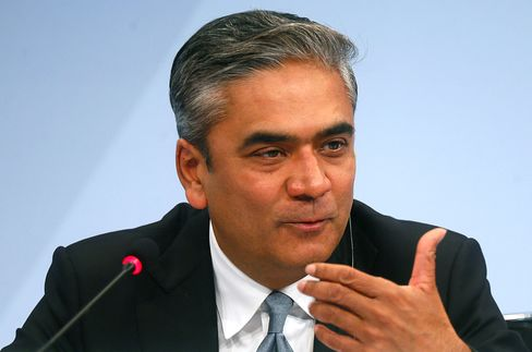 Deutsche Bank AG co-Chief Executive Officer Anshu Jain