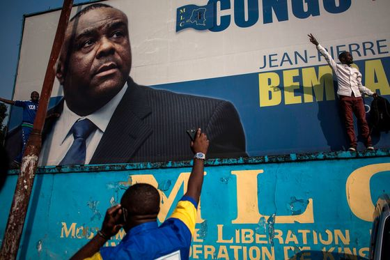 Congo's Jean-Pierre Bemba Nominated as Presidential Candidate