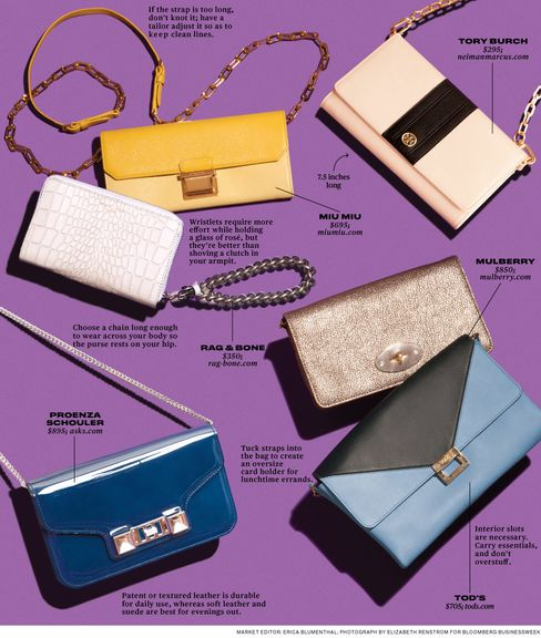 Chained Clutches: Double-Duty Fashion Accessory