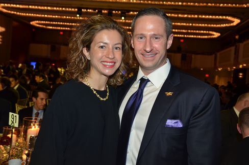 Marisa and Joe Femenia at a 2014 fundraiser for the Navy SEAL Foundation.