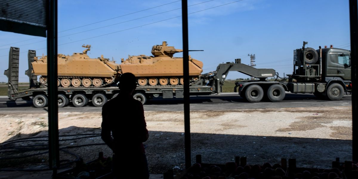 U.S. Poised to Sanction Turkey as Syria Incursion Escalates