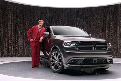 Is Ron Burgundy Chrysler's Best Car Salesman?