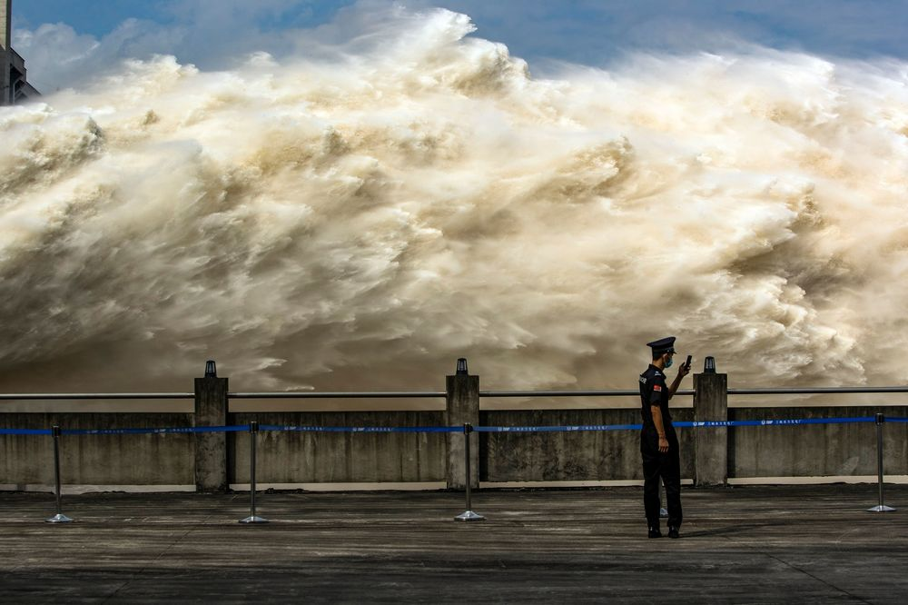 Relieving pressure on the Three Gorges Dam.