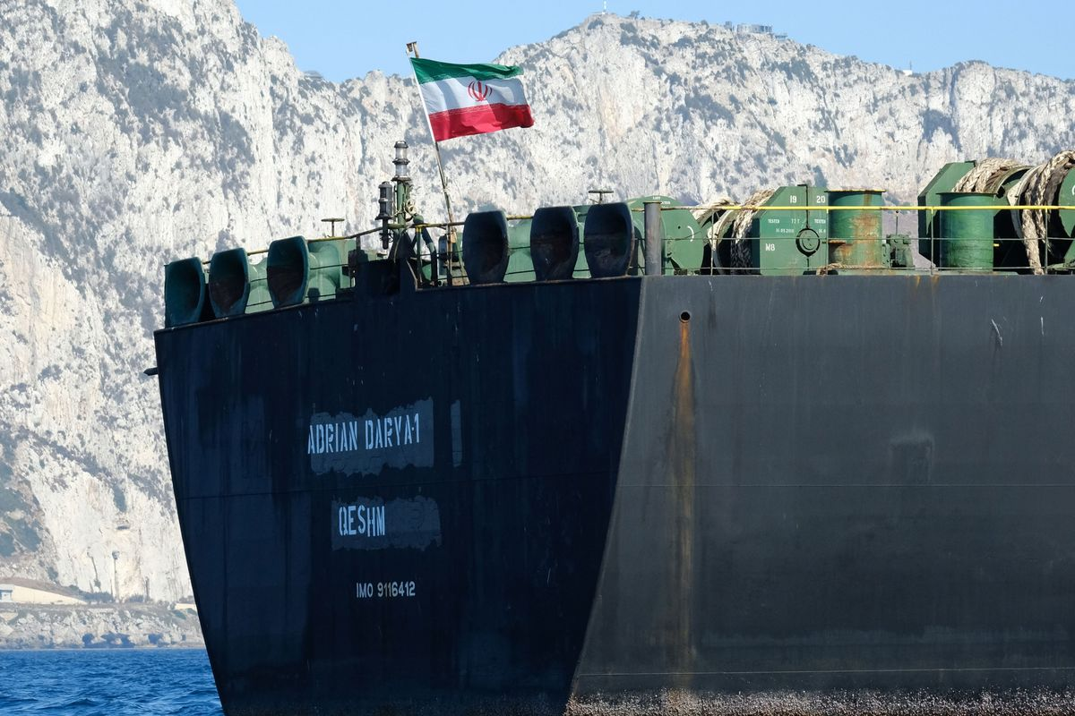 Iranian Crude Tanker Leaves Gibraltar: What Happens Next?