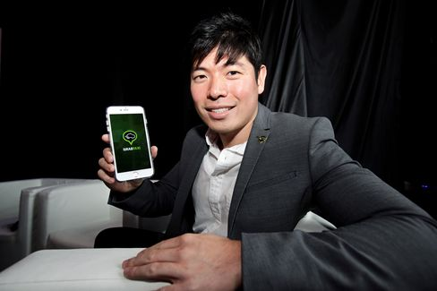 GrabTaxi Founder Anthony Tan