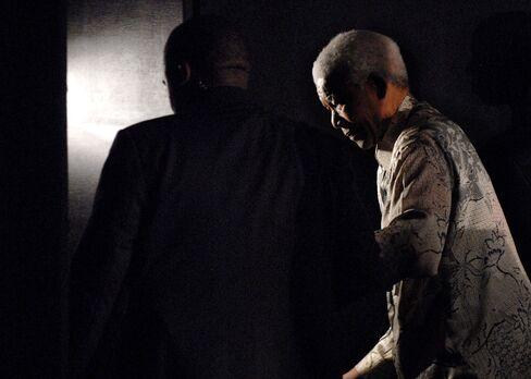 South Africa's Former President Nelson Mandela
