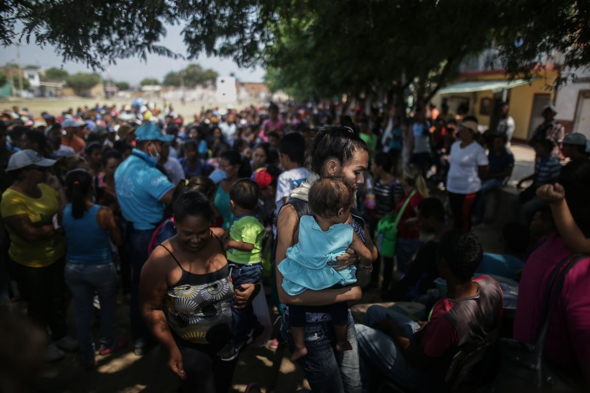 Venezuela Exodus Is as Big as Syria's, Yet Got 1.5% of the Aid