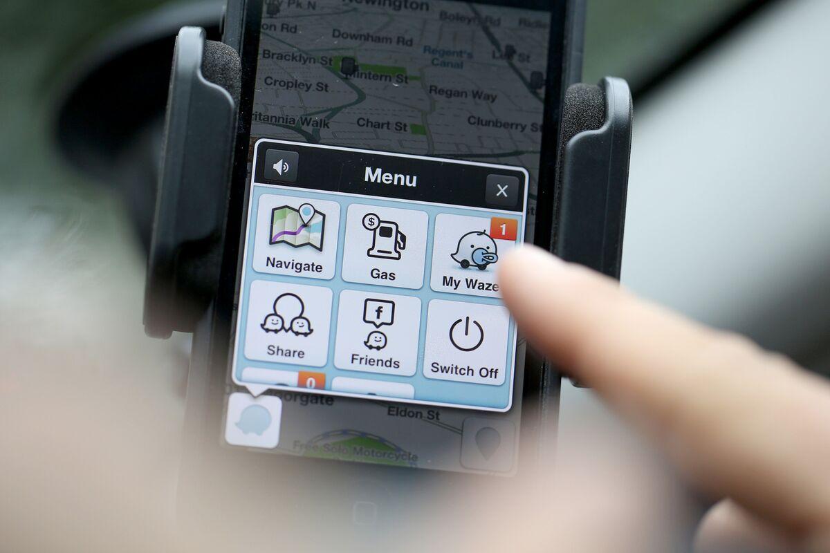 The Waze app