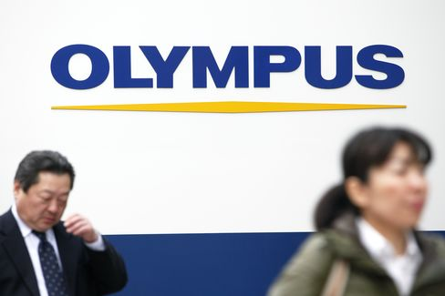 Olympus Shares Tumble in Tokyo After Board Ousts President