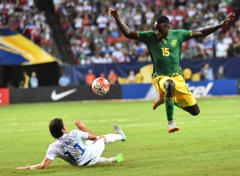 USA Jamaica football