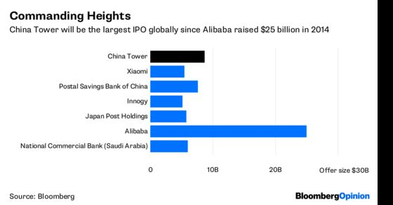 Beijing Towers Over This $9 Billion IPO