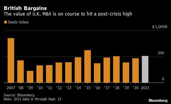Hedge Fund With Three-Decade Winning Streak Bets on U.K. Deals