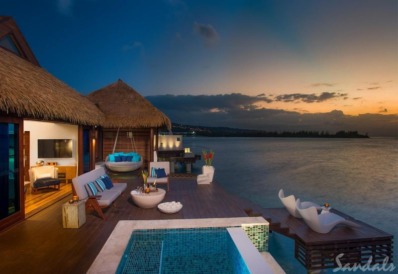 relates to Sandals Resorts Bets Big on Luxury With $8,000-a-Night 'Love Nests'