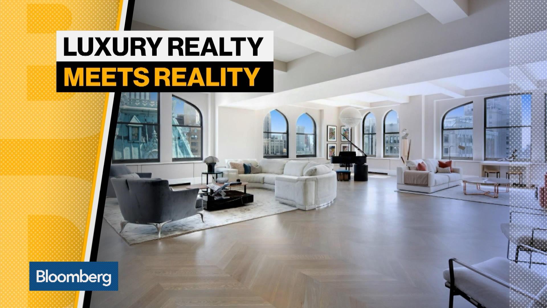 $62 Million Manhattan Penthouse Faces Luxury Realty Reality