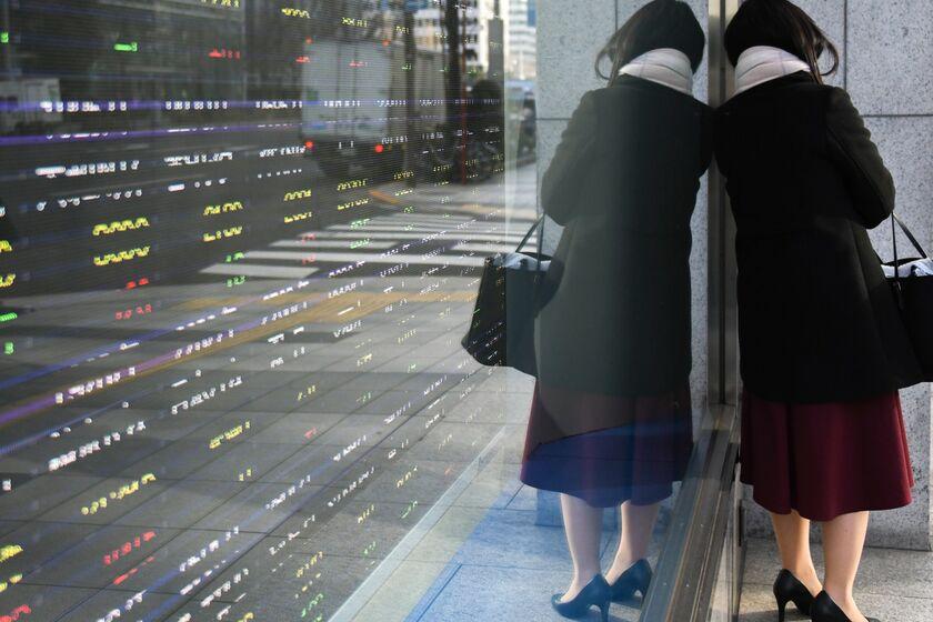 tokyo japan markets stocks