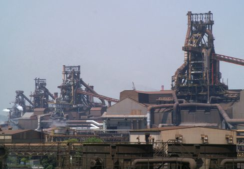 JFE Steel Corp.'s plant