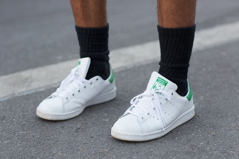 Adidas Stan Smith sneakers.