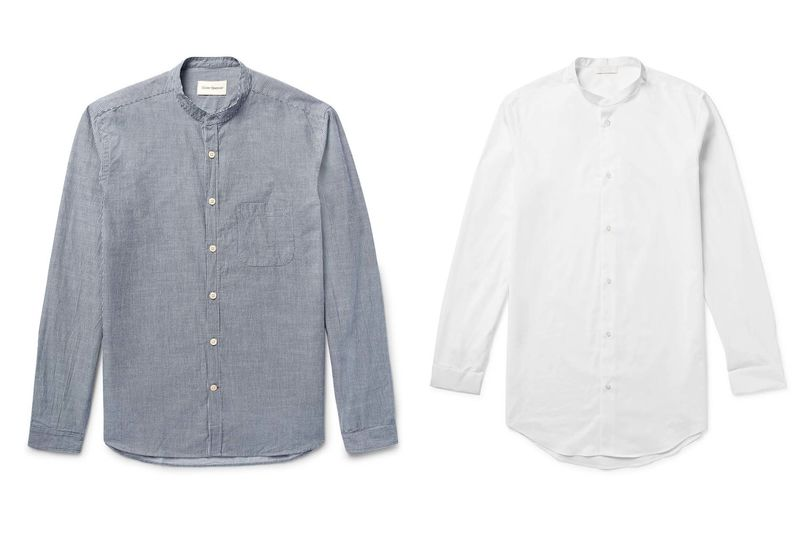 It's Time to Talk About the Collarless Dress Shirt - Bloomberg