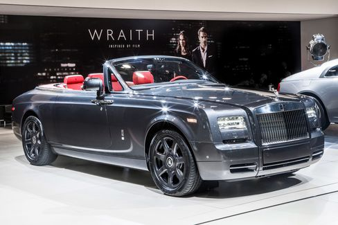 The Rolls-Royce Phantom Drophead Coupe costs $560,000.