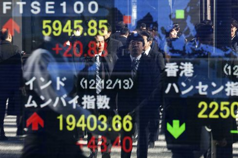 Asian Stocks Halt 11-Day Rally as Won Drops After Japan Survey