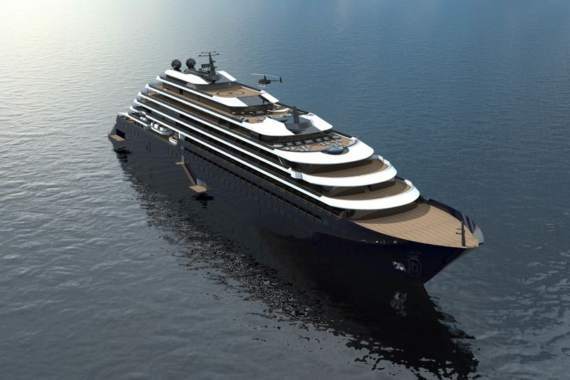 RitzCarlton Yacht Collection Is Building The AntiCruise Ship - Cruise ship list by size
