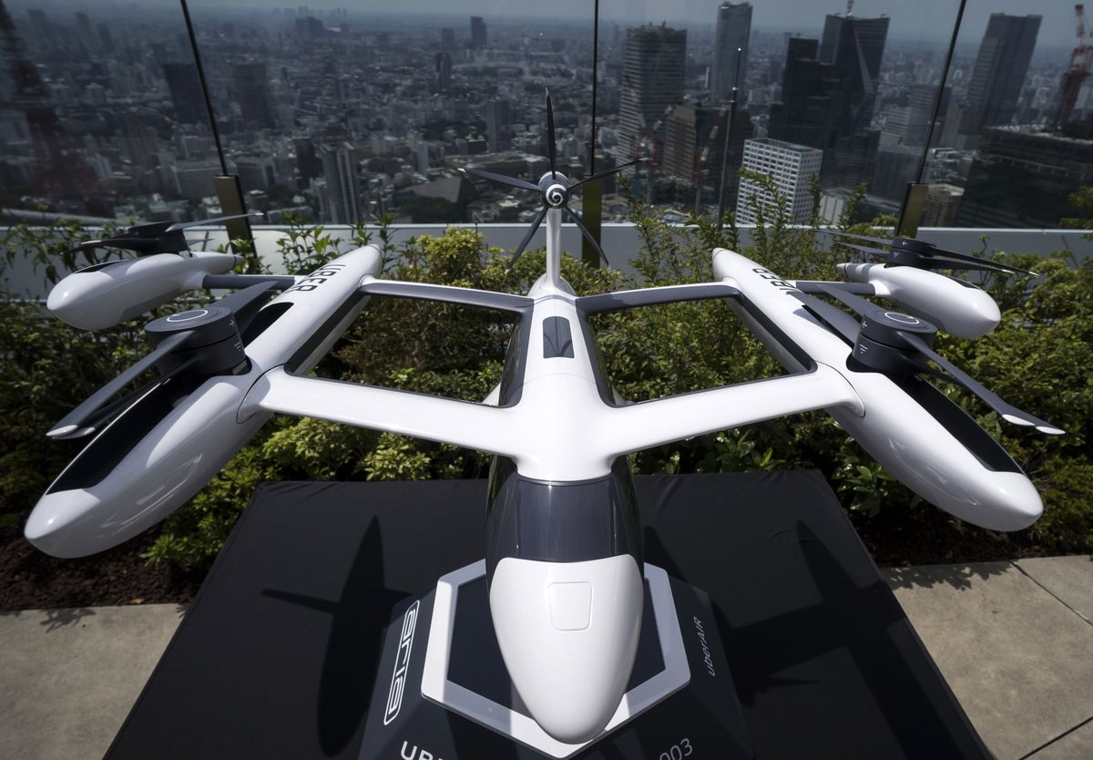 Uber Aims to Start Flying-Taxi Services in Melbourne in 2023