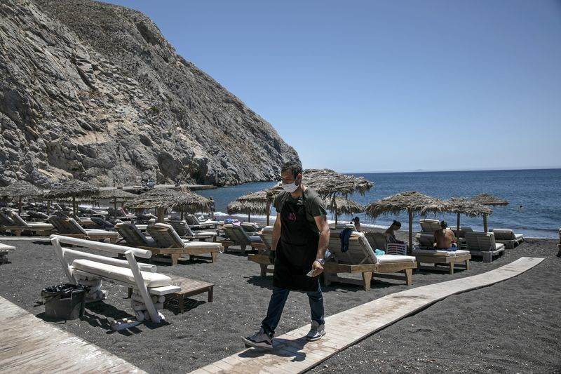 Greek Prime Minister Welcomes Return of Tourists