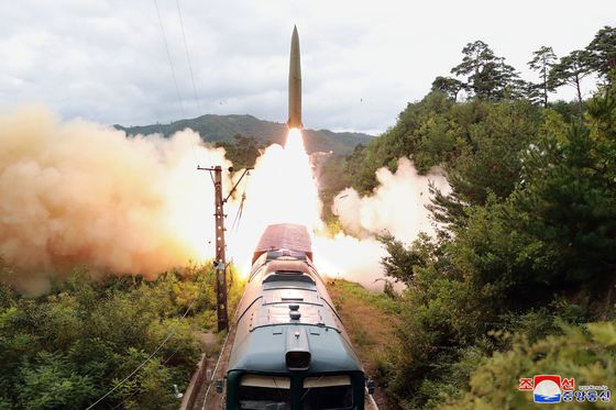 North Korea Launches First Ballistic Missiles Since March