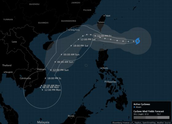 New Storm Threatens Philippines Days After Super Typhoon