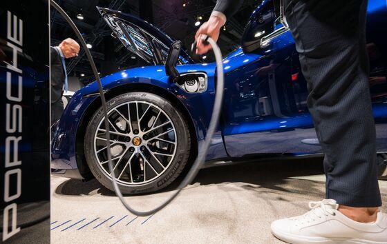 Porsche Plans Green Financing for $6.6 Billion Electric-Car Push