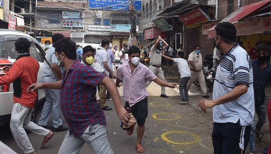 India Races to Restore Order After Protests, Liquor Shop Brawls
