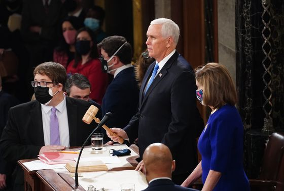 Pence Hits Breaking Point With Trump in Blessing Biden Win