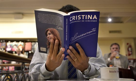 Kirchner's Book Keeps Argentines Guessing Over Presidential Bid