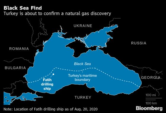 Erdogan Unveils Biggest Ever Black Sea Natural Gas Discovery