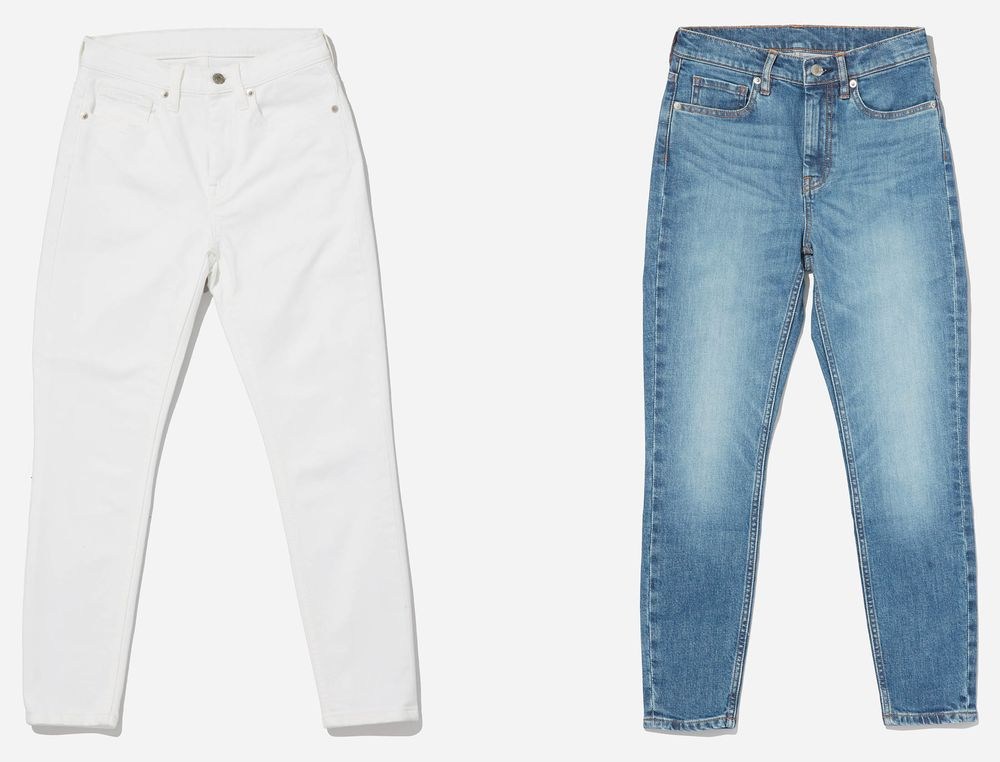 65349835a51 What Goes Into Making Everlane's Eco-Friendly Jeans - Bloomberg