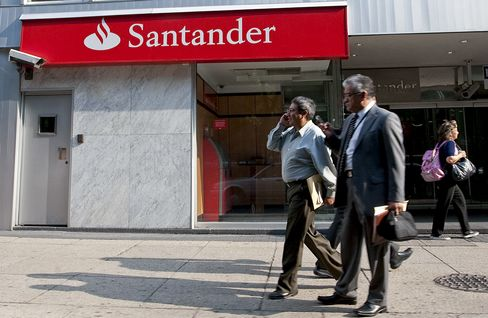 Santander Mexico Said to Seek as Much as $4 Billion in Offering