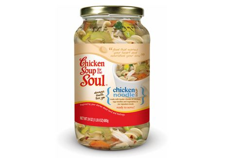 Emotional Eaters Finally Get 'Chicken Soup for the Soul' Soups