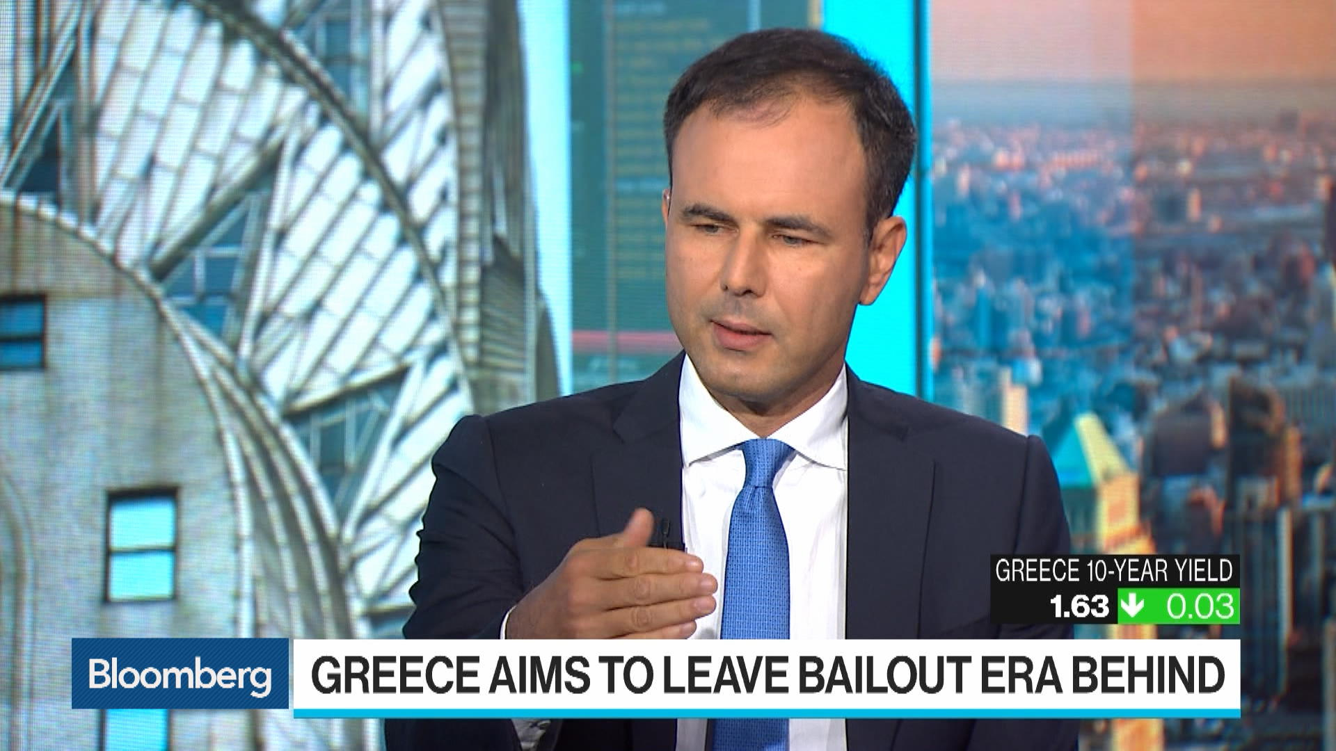 Greece Want to Move Forward With APS Scheme for Bad Loans, Says PM Mitsotakis's Adviser Alex Patelis