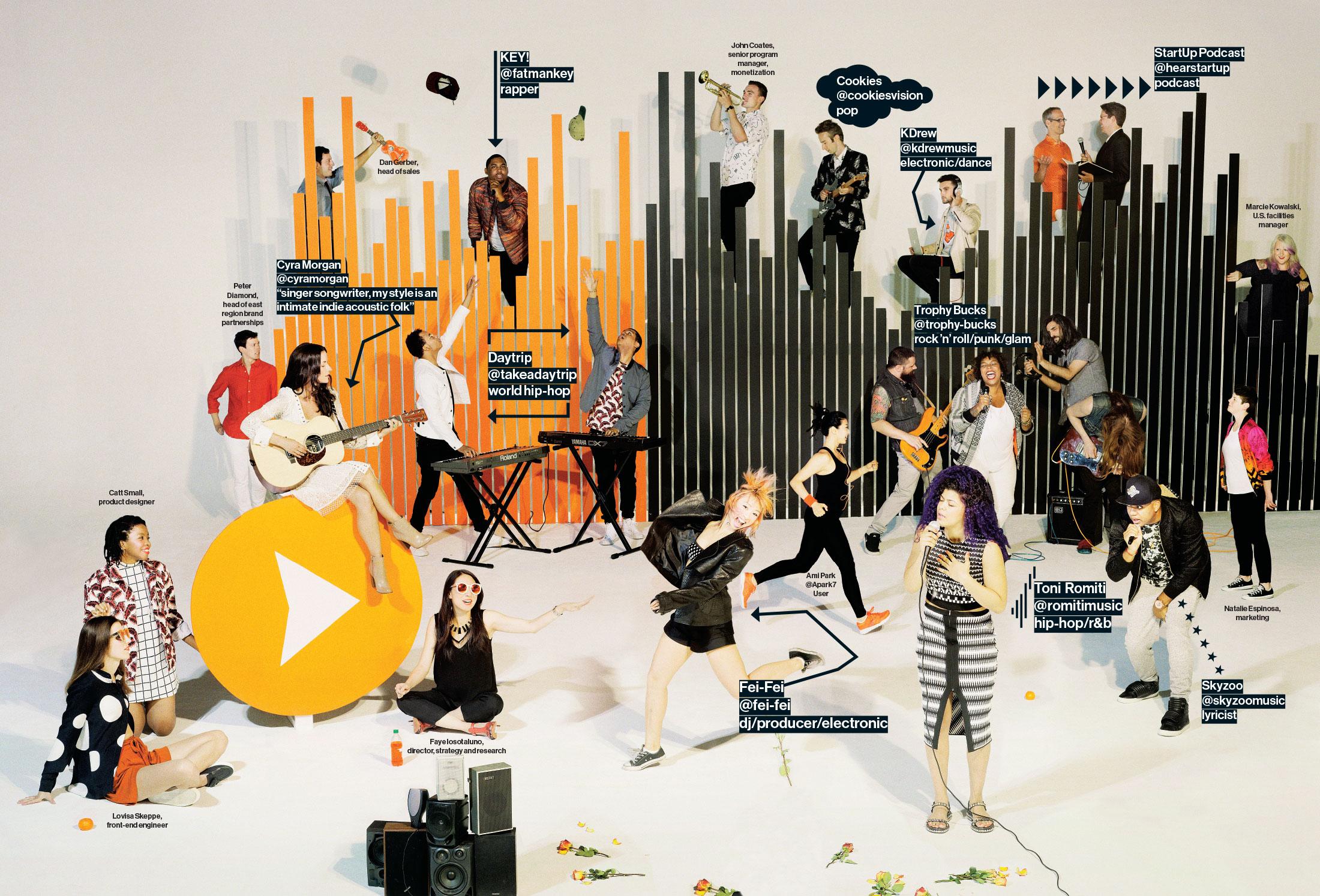 From Left: Skeppe: Karen Walker, Ji Oh, Longchamp; Small: Marc Jacobs; Diamond: APC, The Generic Man; Morgan: Zimmerman, A+; Isostaluno; Karen Walker; Daytrip: Vince, Marc Jacobs; Key!: Burton, Oliver Goldsmith; Fei-Fei: Zimmerman, Camilla and Marc, Cushie Et Ochs; Coates: Allsaints; Cookies: Ovadia & Sons; Romiti; Sass & Bide; Trophy Bucks: Alexander McQueen; KDrew: Carven, Kent and Curwen; Skyzoo: Theroy; Espinosa: Fifteen & Half