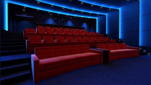 "The Imax Private Theatre ""Platinum"" setup can fit 40 guests for a cost of about $1 million."