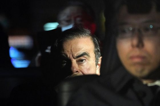 Ghosn Escape Escorts Included Green Beret With Record