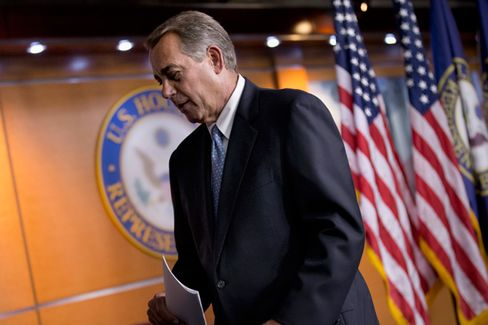Boehner Gets It Over With, Agrees to Tie Overall Budget to Obamacare Funding